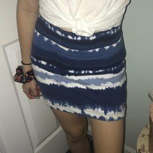 Hollister Blue Skirt XS